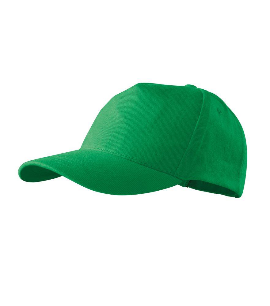 Adler Šiltovka 5P - Středně zelená | uni