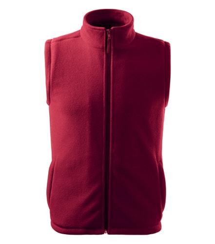 Adler Fleecová vesta Next - Marlboro červená | XS