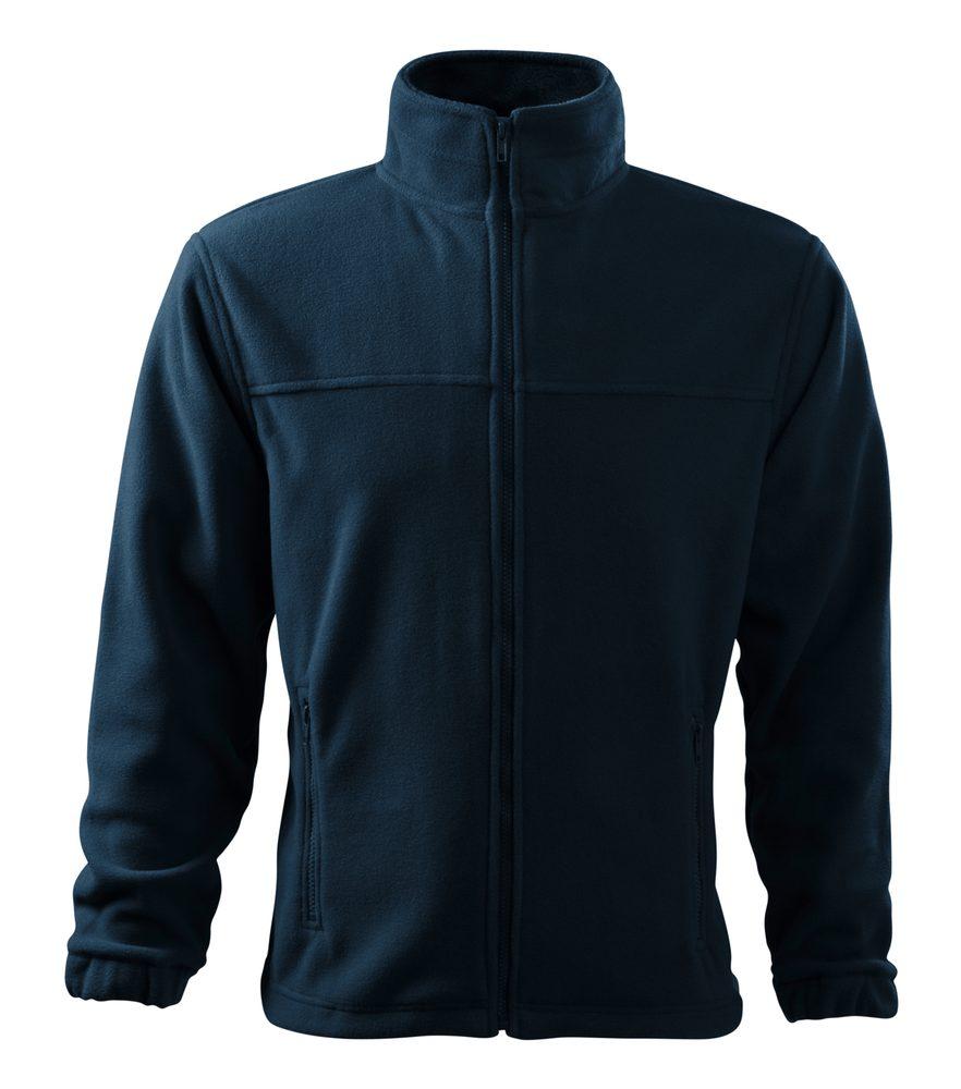 Adler Pánska fleecová mikina Jacket - Námořní modrá | XXXL