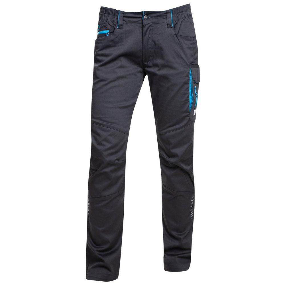 Ardon Dámske pracovné nohavice FLORET - Černá / modrá   34