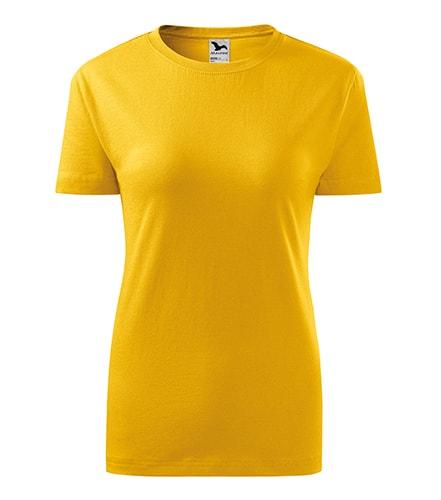 Adler Dámske tričko Classic New - Žlutá | XS