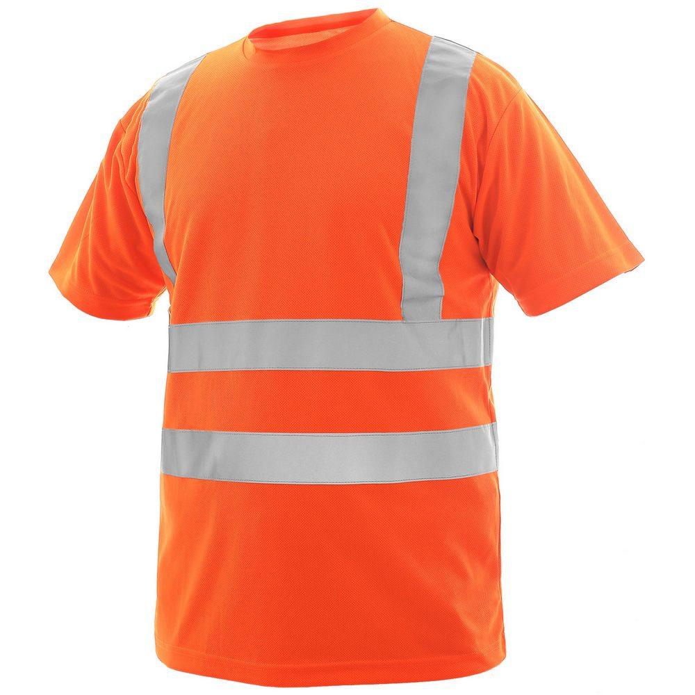 Canis Pánske výstražné tričko LIVERPOOL - Oranžová | L