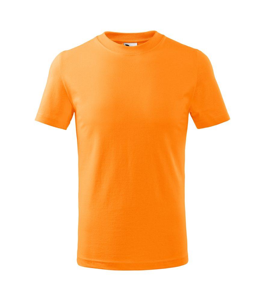 Adler (MALFINI) Detské tričko Basic - Mandarinkově oranžová | 146 cm (10 let)