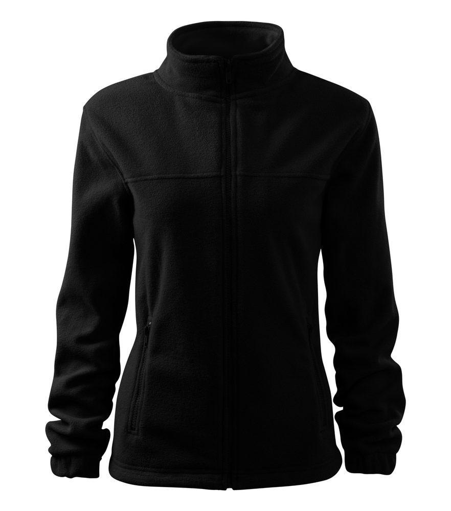 Adler Dámská fleecová mikina Jacket - Černá   L