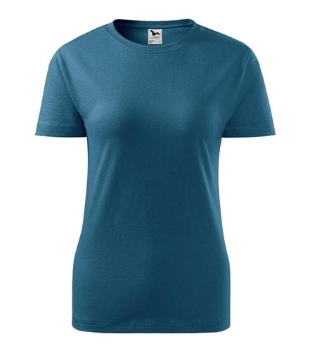 Adler Dámske tričko Basic - Petrolejová | S