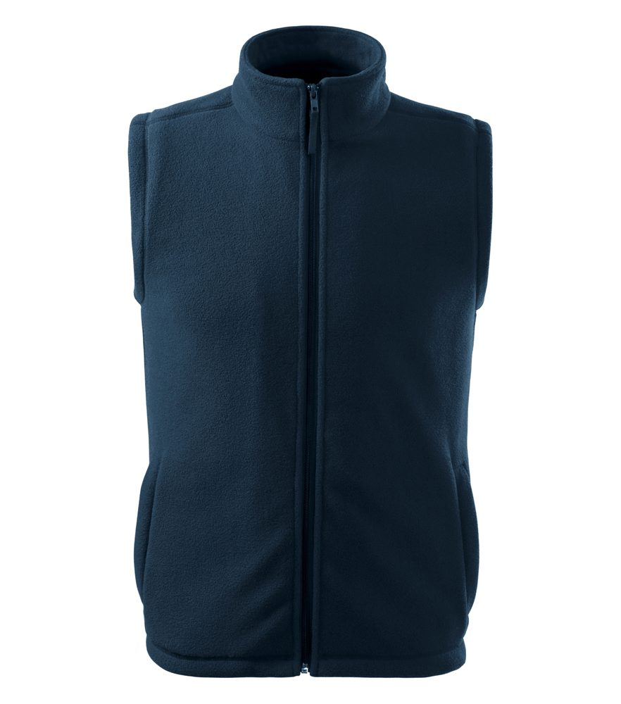 Adler (MALFINI) Fleecová vesta Next - Námořní modrá | M
