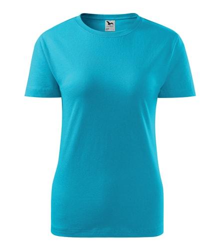 Adler Dámske tričko Basic - Tyrkysová | L