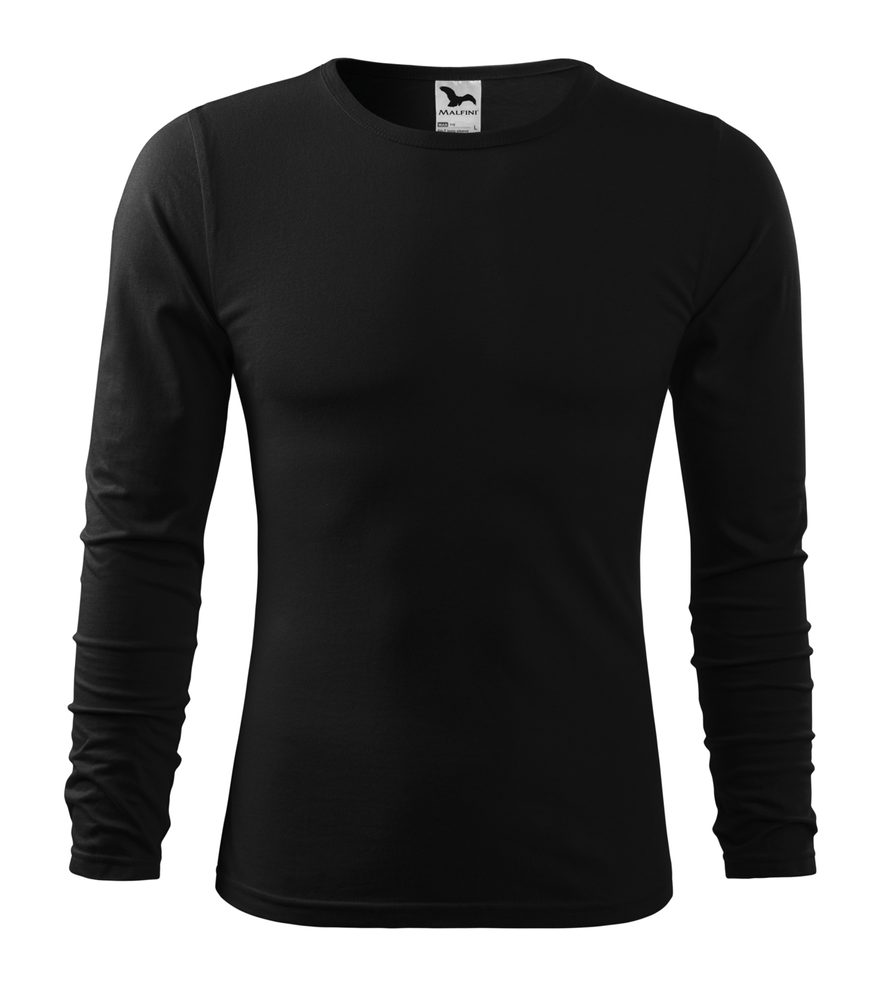 Adler Pánske tričko s dlhým rukávom Fit-T Long Sleeve - Černá | L