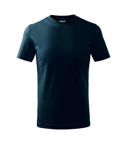 Adler Detské tričko Basic - Námořní modrá | 122 cm (6 let)