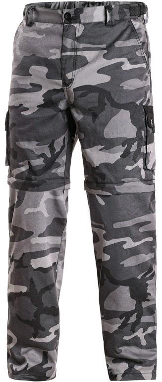 15d4c22676b7 Pánské maskáčové kalhoty šedé 2v1 CXS VENATOR - 64