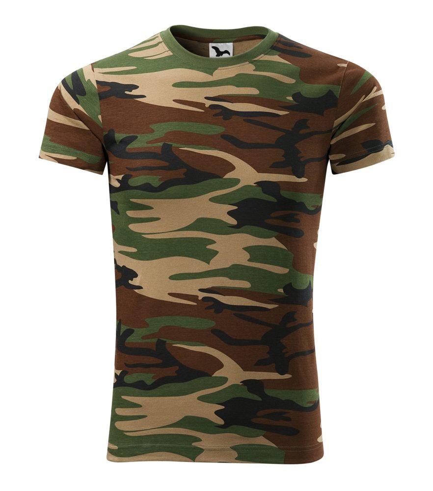 Adler Maskáčové tričko Camouflage - Maskáčová hnědá | XXXL