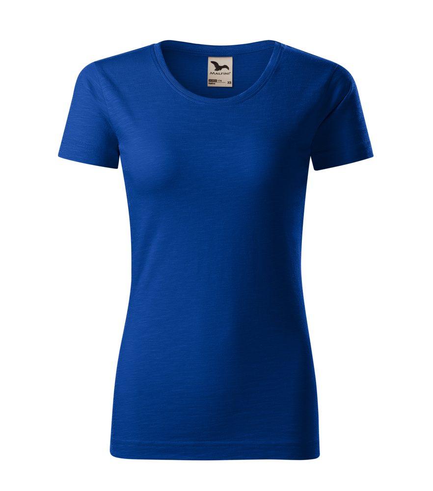 Adler (MALFINI) Dámske tričko Native - Královská modrá | L