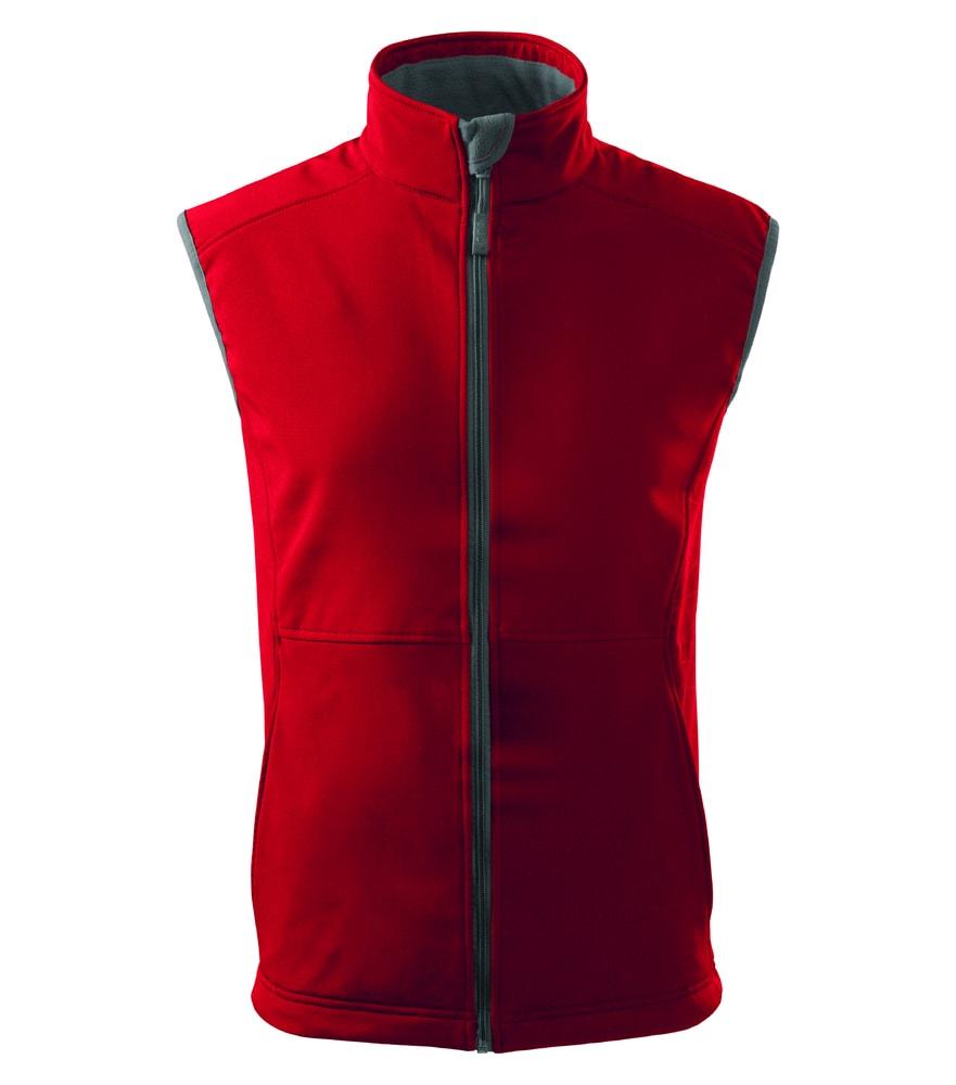 Adler Pánska softshellová vesta Vision - Červená | L