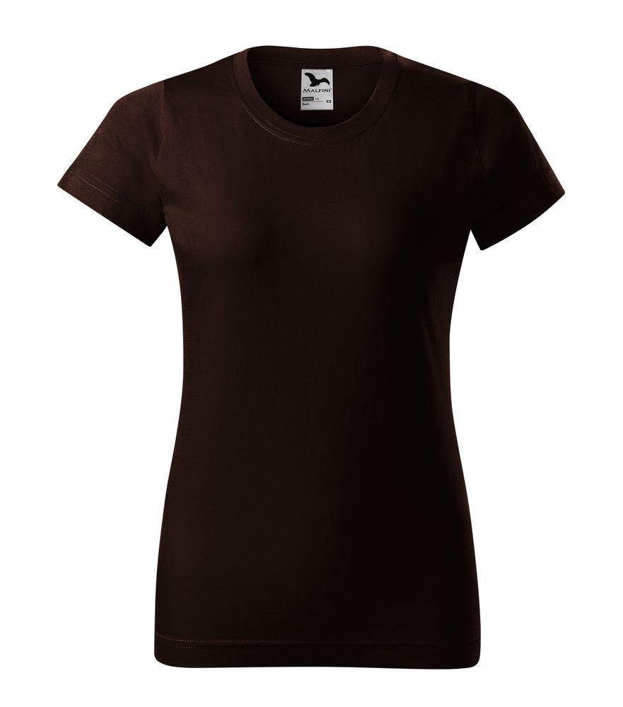 Adler Dámske tričko Basic - Kávová | M