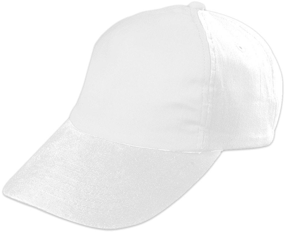 Dětská 5P kšiltovka MB7010 - Bílá