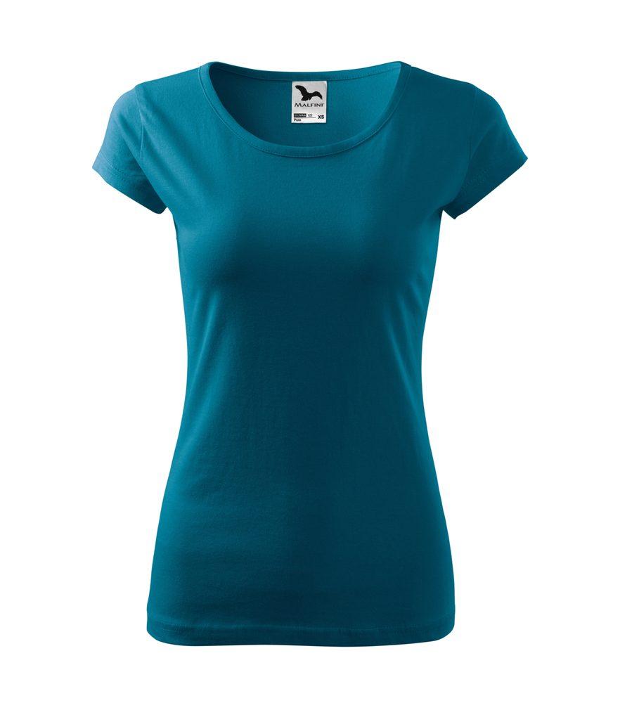 Adler Dámske tričko Pure - Petrolejová | M