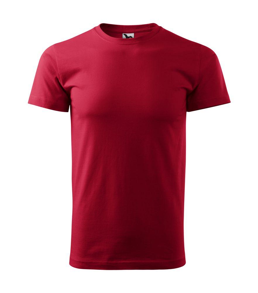 Adler Pánske tričko Basic - Marlboro červená | XXXL