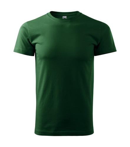 Adler Tričko Heavy New - Lahvově zelená | XXL