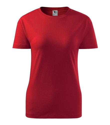 Adler Dámske tričko Basic - Červená | M
