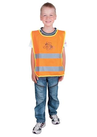 Ardon Detská reflexná vesta - Oranžová | S