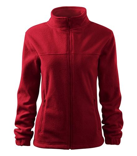 Adler Dámska fleecová mikina Jacket - Marlboro červená | L
