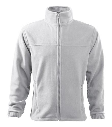 Adler Pánska fleecová mikina Jacket - Bílá | S