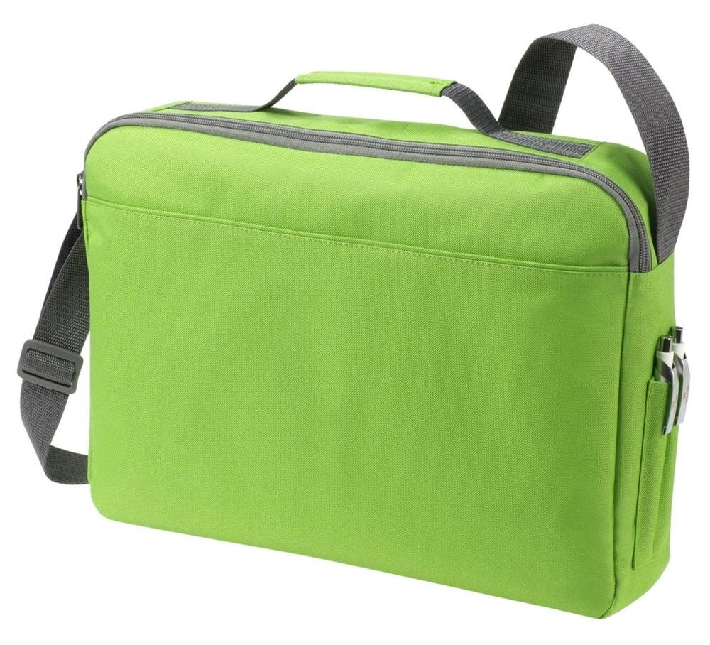 Halfar Taška na dokumenty BASIC - Apple green