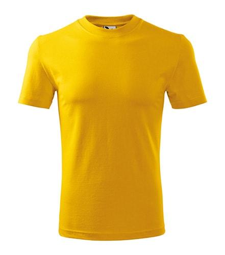 Adler Tričko Heavy - Žlutá | S