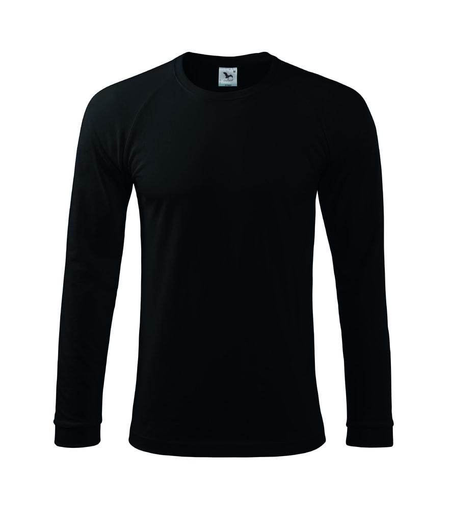 Adler Pánske tričko s dlhým rukávom Street LS - Černá | XL