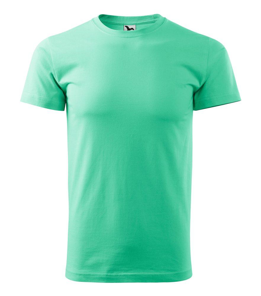 Adler Pánske tričko Basic - Mátová | XXXL