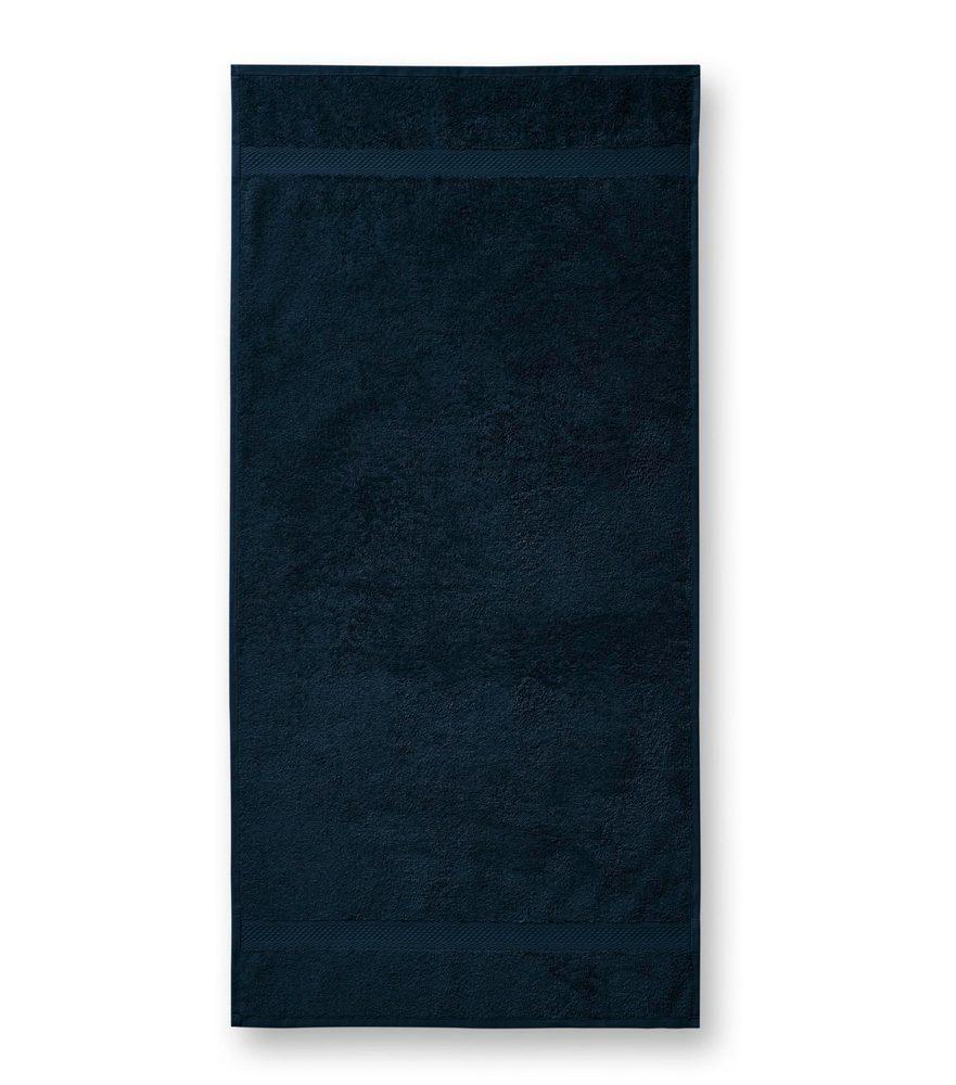 Adler (MALFINI) Uterák Terry Towel - Námořní modrá | 50 x 100 cm
