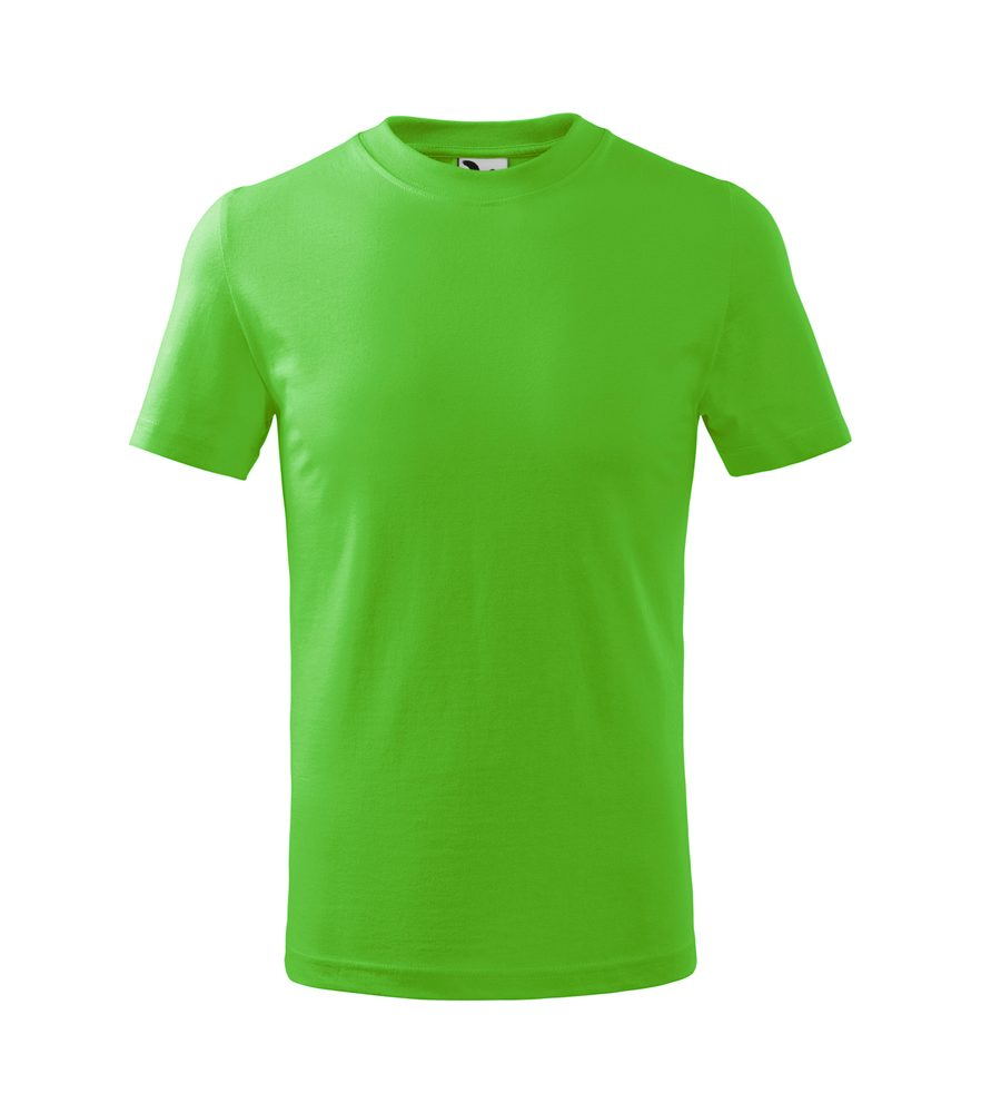 Adler (MALFINI) Detské tričko Basic - Apple green | 146 cm (10 let)