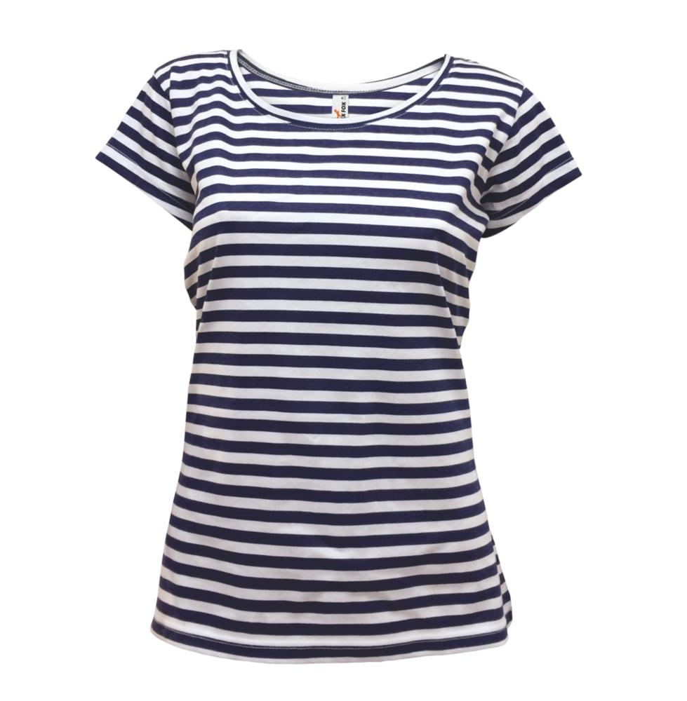 Alex Fox Dámske námornícke tričko - Tmavě modrá   L