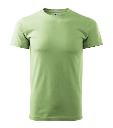 Adler Tričko Heavy New - Trávově zelená | XXL