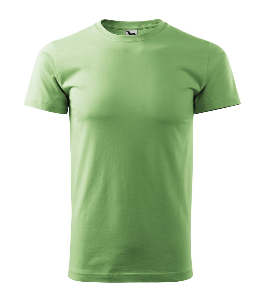 Adler (MALFINI) Tričko Heavy New - Trávově zelená | XXL