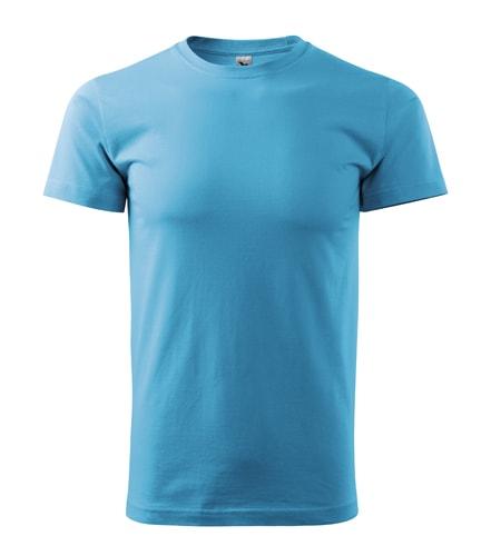 Adler Pánske tričko Basic - Tyrkysová | S