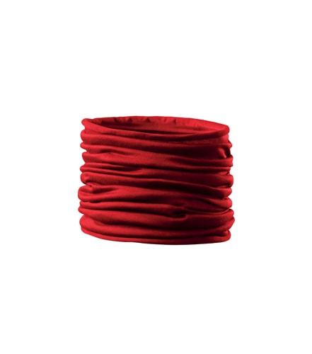 Adler Multifunkční šátek Twister - Červená | uni
