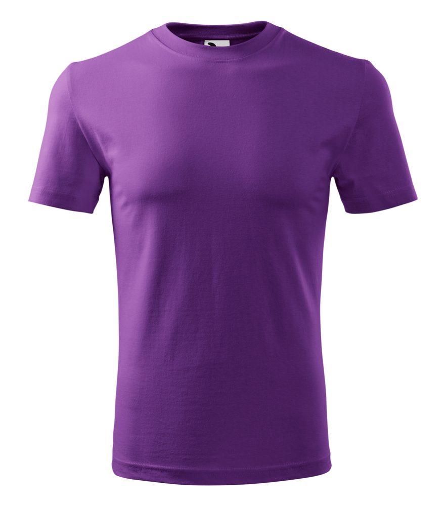 Adler Pánske tričko Classic New - Fialová | XL