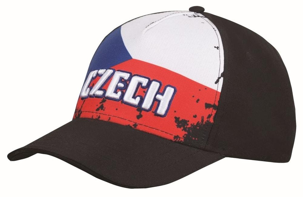 Fan kšiltovka Czech flag