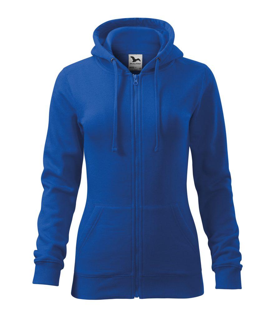 Adler Dámska mikina Trendy Zipper - Královská modrá | L