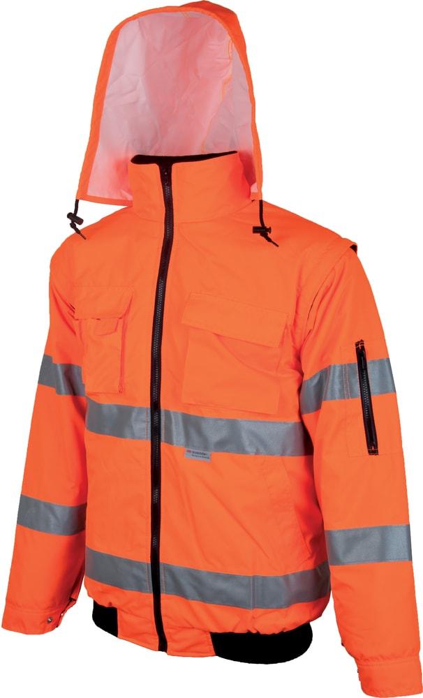 Ardon Nepremokavá reflexná bunda Howard reflex - Oranžová | XXL