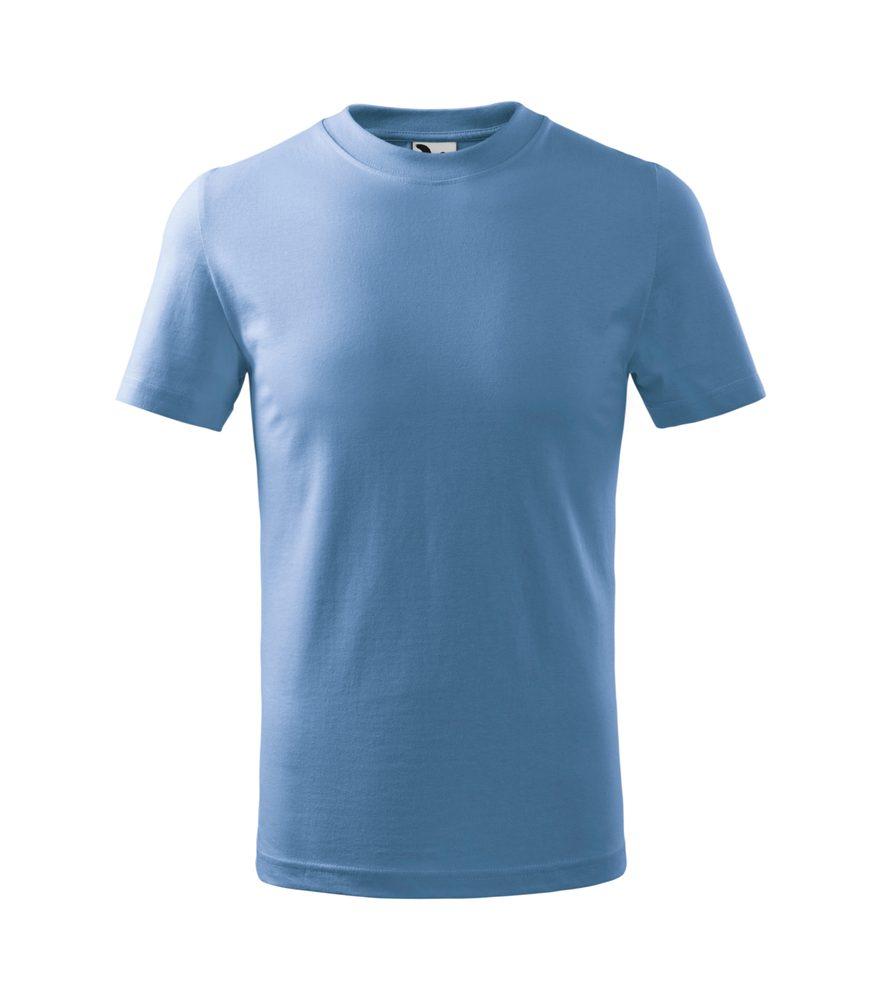 Adler (MALFINI) Detské tričko Basic - Nebesky modrá | 146 cm (10 let)