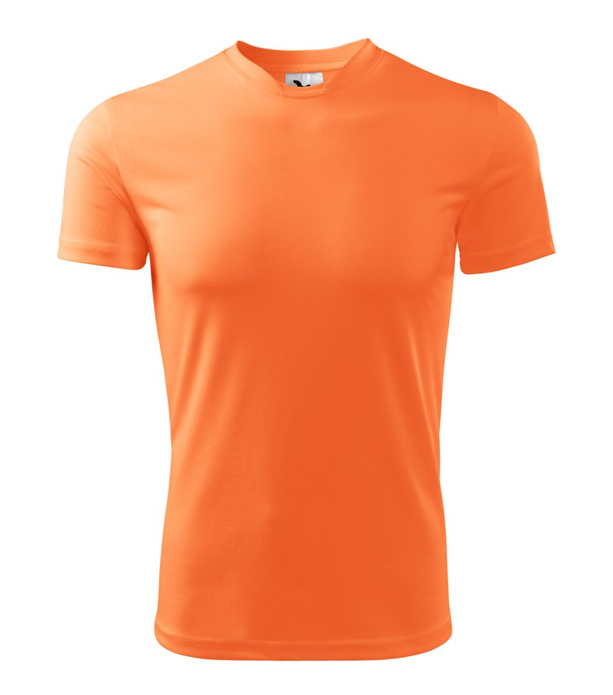 Adler Pánske tričko Fantasy - Neonově mandarinková | XL