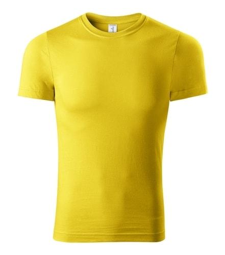 Adler Tričko Paint - Žlutá | XXL