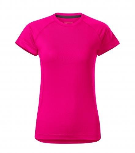 Adler Dámske tričko Destiny - Neonově růžová | M
