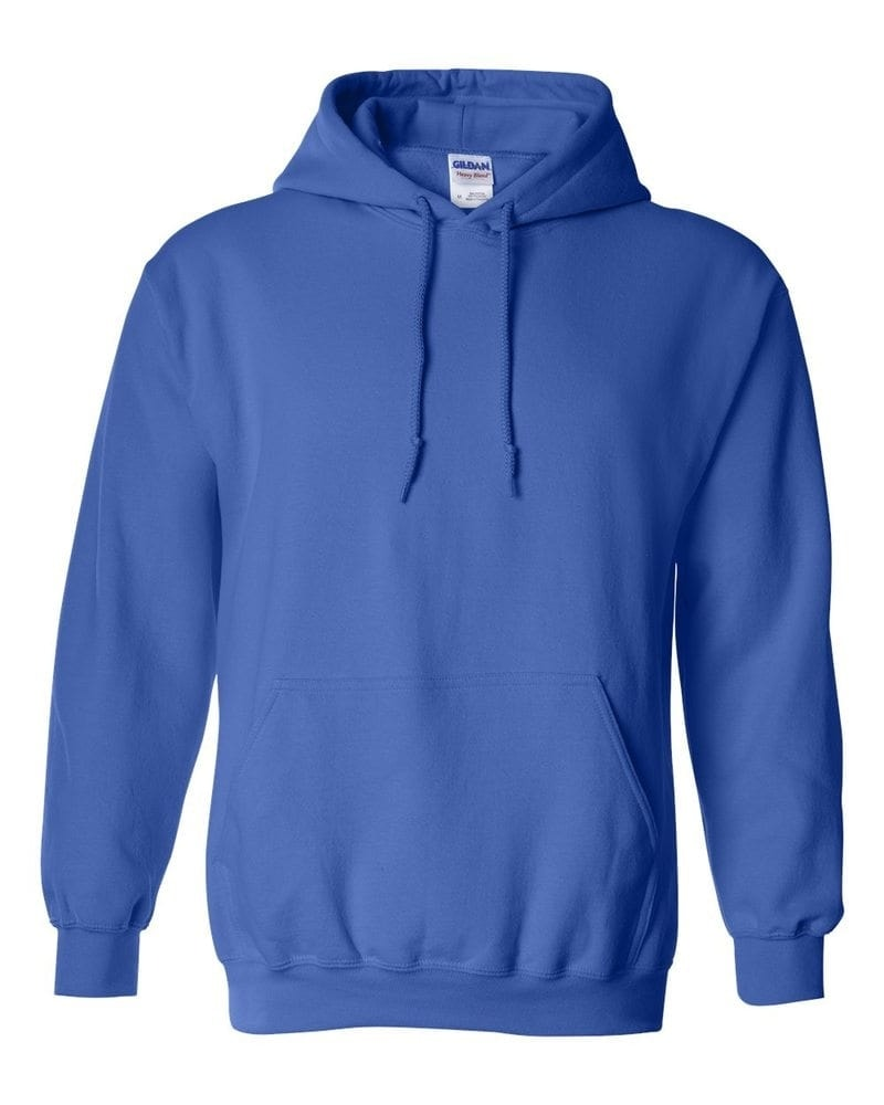Gildan Mikina s kapucňou Gildan - Královská modrá | S