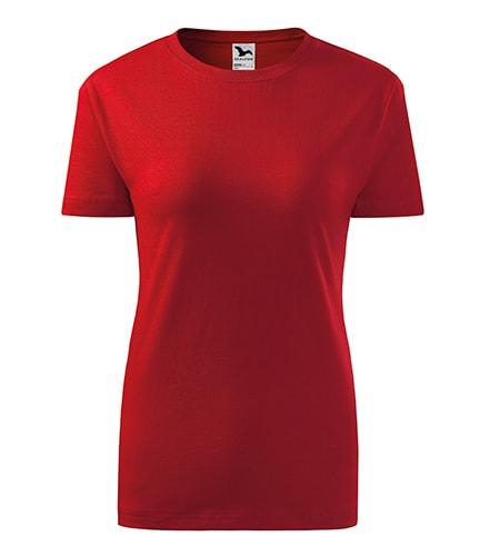 Adler Dámske tričko Classic New - Červená | M