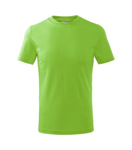 Adler Detské tričko Basic - Apple green | 158 cm (12 let)