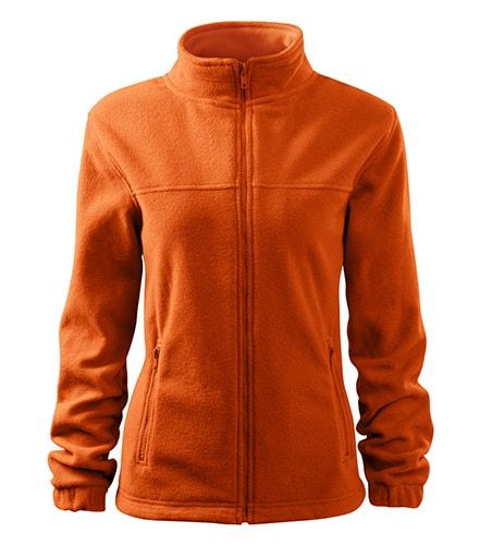 Adler Dámska fleecová mikina Jacket - Oranžová | XXL