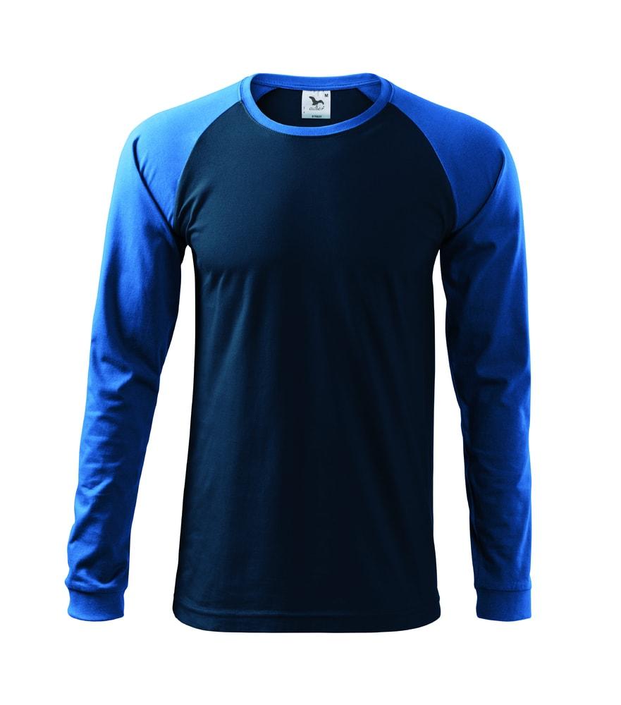 Adler Pánske tričko s dlhým rukávom Street LS - Námořní modrá | XXL